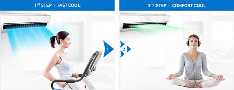 แอร์ Samsung รุ่น AR13 The Triangle