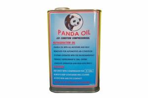 น้ำมันคอมแอร์ ยี่ห้อ PANDA OIL แบบถัง