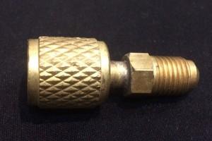 หัวข้อต่อทองเหลือง สำหรับน้ำยาแอร์ R410A