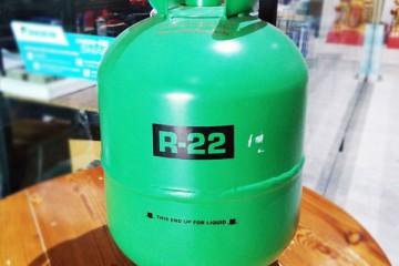 ถังบรรจุน้ำยาแอร์ R-22 (เฉพาะถัง)