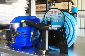 ปั๊มน้ำล้างแอร์ เครื่องฉีดน้ำแรงดันสูง ยี่ห้อ SUMO