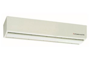 ม่านอากาศ Mitsubishi Electric รูปลักษณ์บางกะทัดรัด ประหยัดพลังงาน