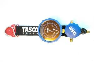 เกจ์วัดน้ำยาแอร์ TASCO Black มีแม่เหล็กยึดติด และที่แขวน