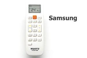 รีโมทแอร์ ซัมซุง (Samsung) แบบเทียบ