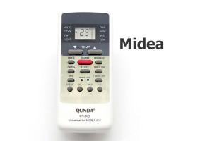 รีโมทแอร์ มีเดีย (Midea) แบบเทียบ