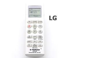 รีโมทแอร์ แอลจี (LG) แบบเทียบ