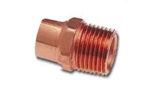 เกลียวนอกทองแดง สำหรับเชื่อมท่อทองแดง