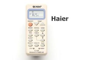 รีโมทแอร์ ไฮเออร์ (Haier) แบบเทียบ
