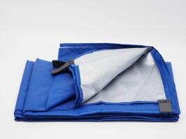 ผ้าคลุมล้างแอร์ ขนาด 2*3 เมตร กันฝุ่น กันน้ำได้ดี
